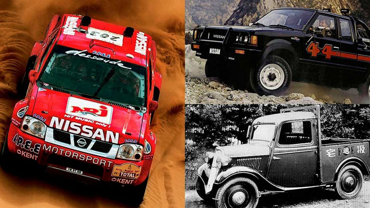 Nissan Navara All over the years