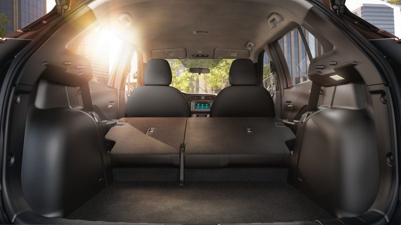 Nissan KICKS car cargo space