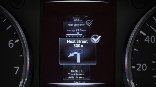 نظام الإتجاهات لسيارة نيسان أكس-تريل