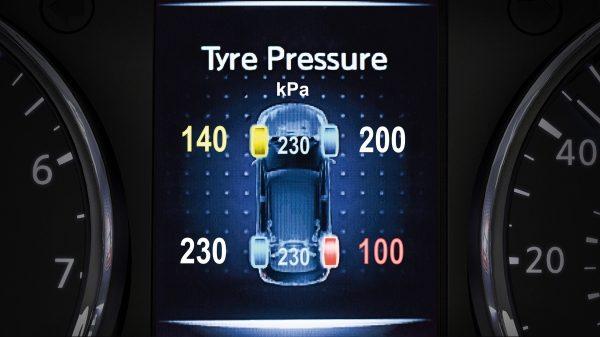 شاشة ضغط الهواء لإطارات سيارة نيسان أكس-تريل