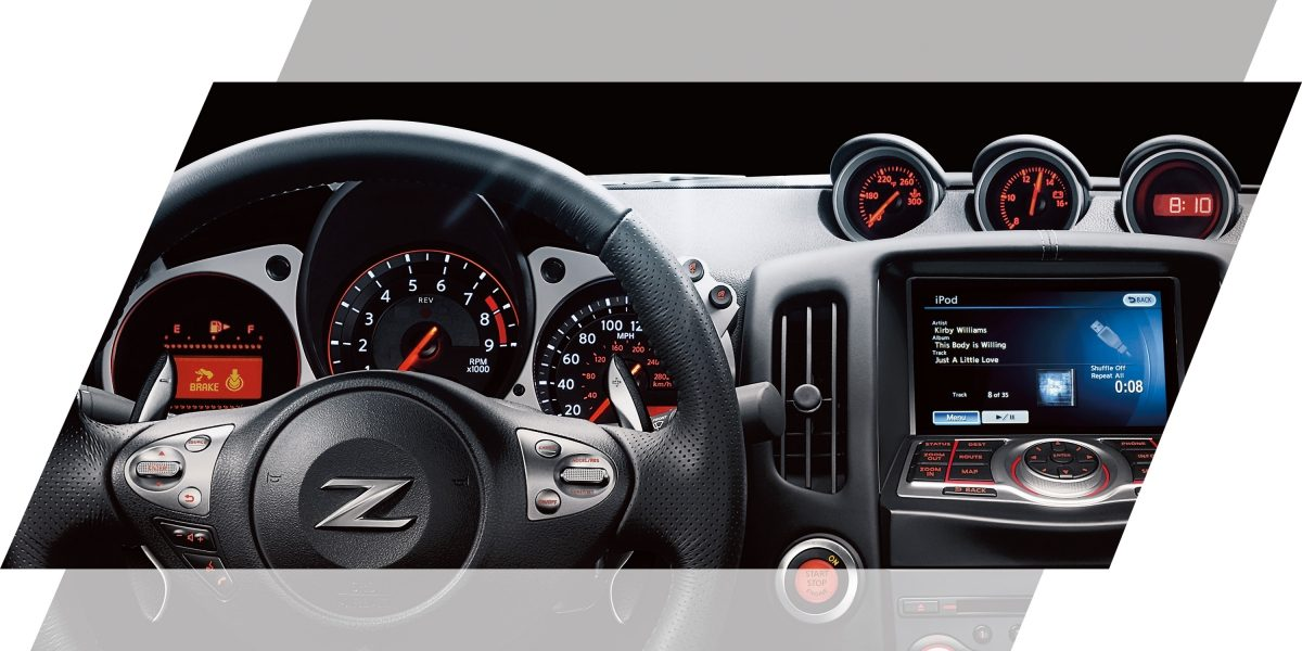 370Z عجلة القيادة في نيسان