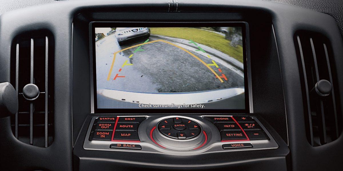 370Z شاشة الرؤية الخلفية في سيارة  نيسان
