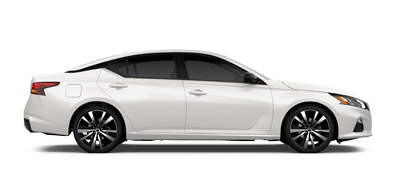 White Nissan ALTIMA car