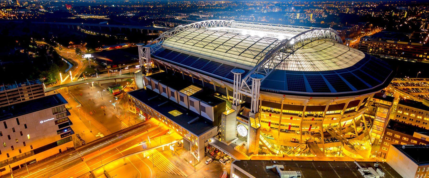 Amsterdam arena at night