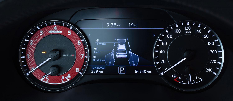 NISSAN PATROL NISMO speedometers