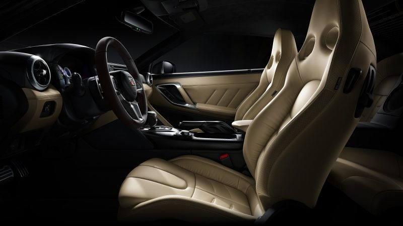 beige gt-r seats interior