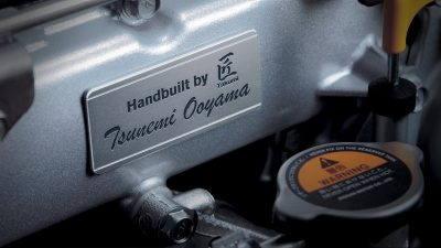 gt-r assembled engine