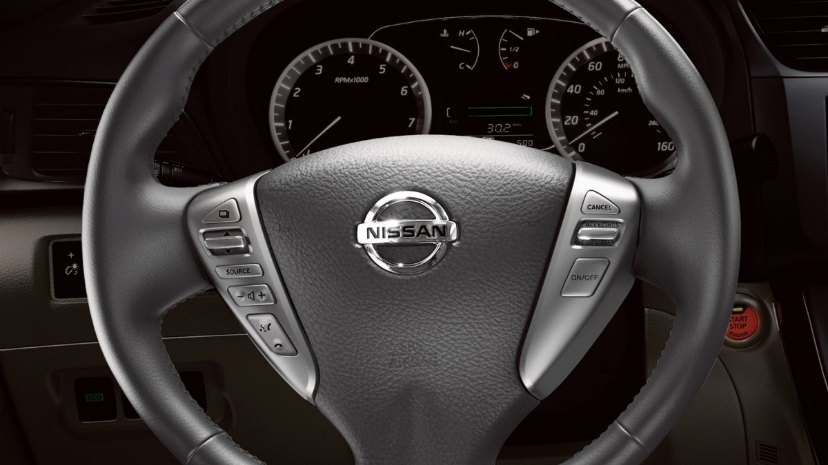 Nissan Sentra Steering wheel controls