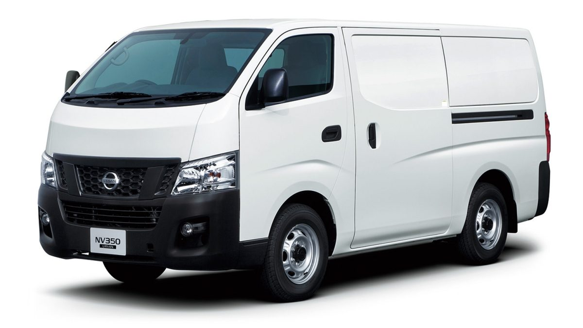 Nissan urvan white extrior closed window