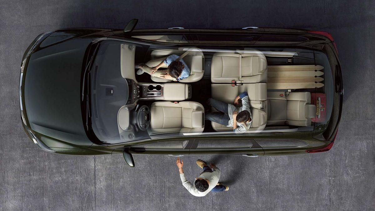 مقاعد تتسع لسبعة أفراد مع مساحة داخلية هائلة في سيارة نيسان باثفايندر