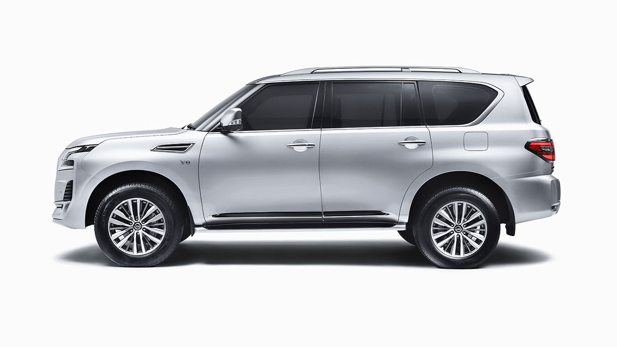 2020 Nissan PATROL ZONE BODY CONSTRUCTION