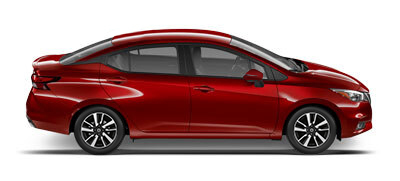 Red Nissan 2020 SUNNY car