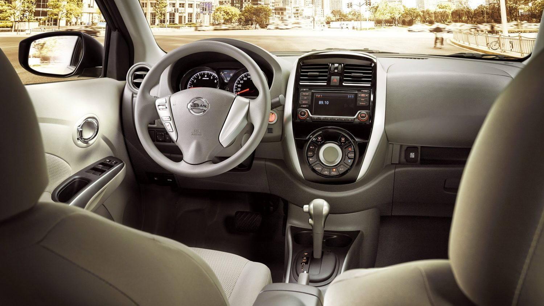 beige Nissan sunny interior