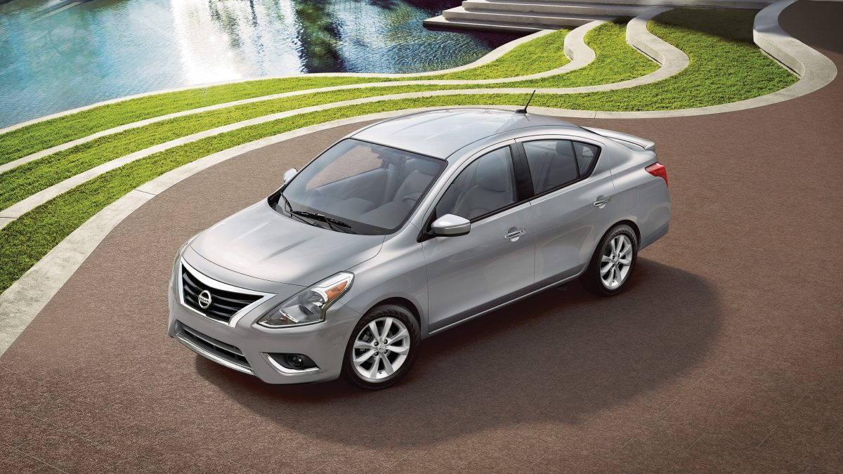 silver Nissan Sunny exterior