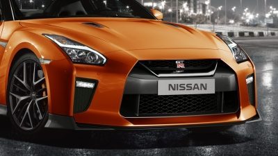 Nissan GT-R aggressive new front end