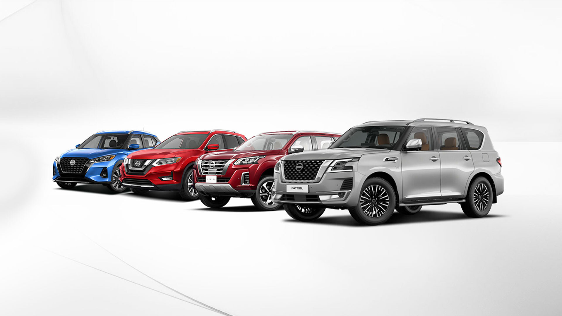 SUVS & CROSSOVERS cars from Nissan