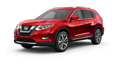 Red X-trail car